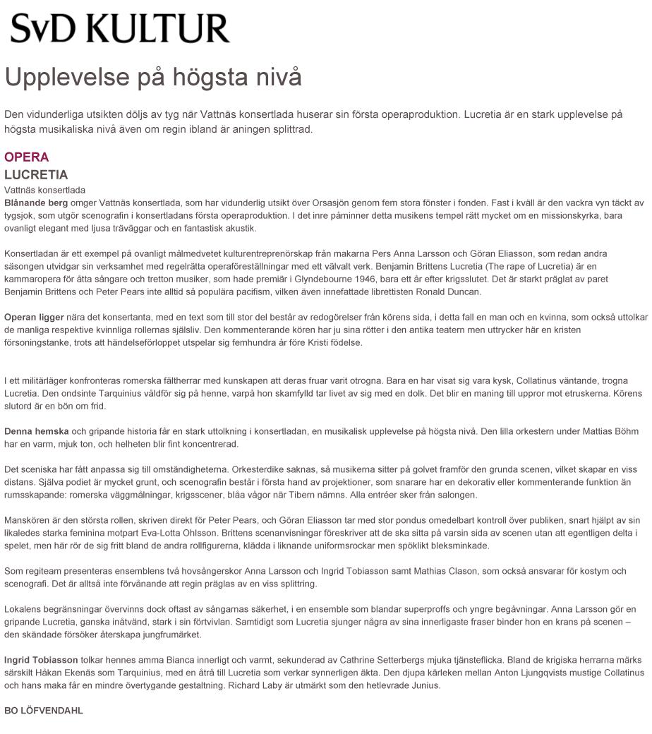 Lucretia-SvD