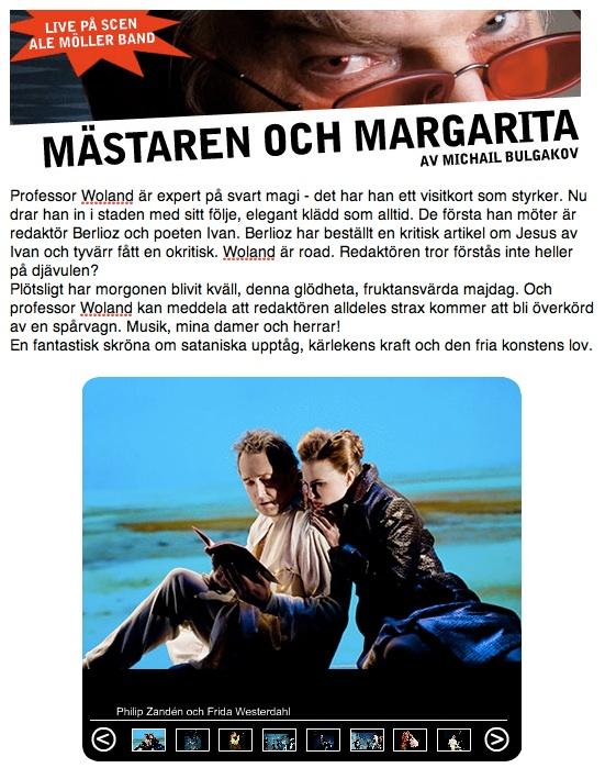 ST-Mastaren och Margarita1