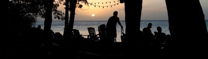 Solnedgång i Paradiset