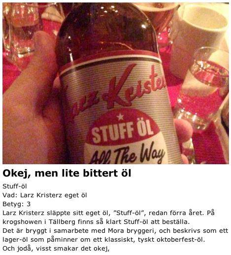 LK-Stufföl